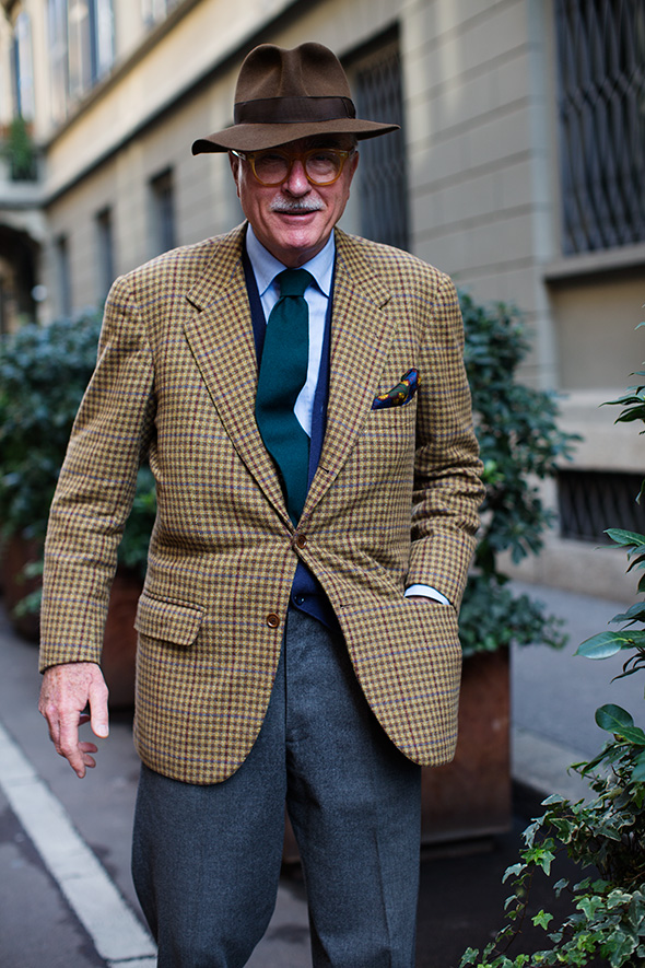 On the Street….Luciano Barbera, Milan