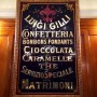 Caffe Gilli always welcomes me to Florence. Could the typography be any better ?  Can't wait to dive into the men's collections over the next two weeks in Florence, Milan and Paris
