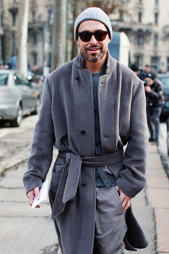 On the Street….Mr. Alex Badia, Milan & Paris