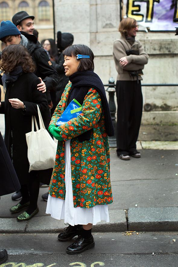 On the Street….After Lanvin, Paris