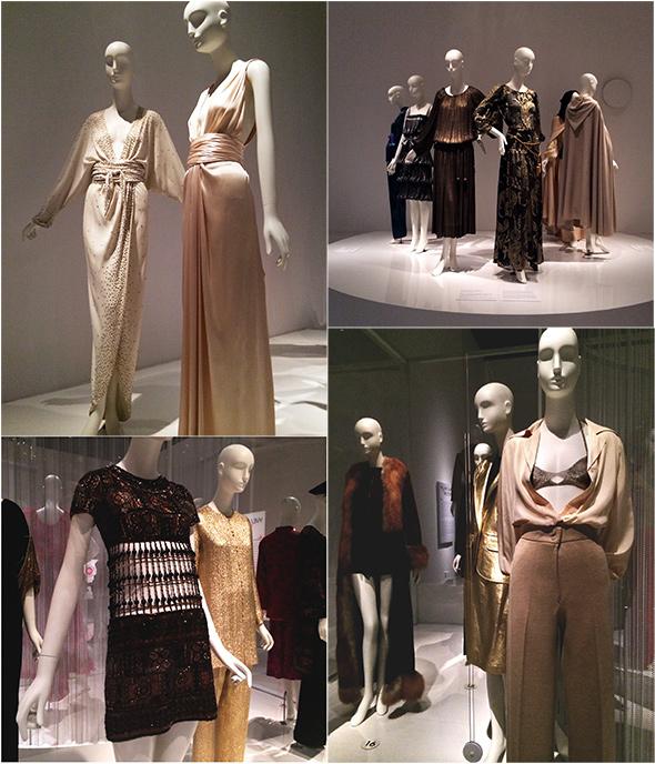 On Exhibit….Yves Saint Laurent + Halston: Fashioning the 70s