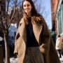 A large volume coat that makes a statement without overwhelming the wearer is a gift that keeps on giving.
