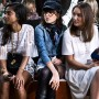 Love the super cool young lady in denim sitting across from me at Chloe @chloe