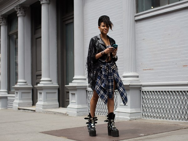 On the Street…Broome St., New York