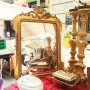Seriously considering this mirror from the flea market at the Grand Canal, Milan