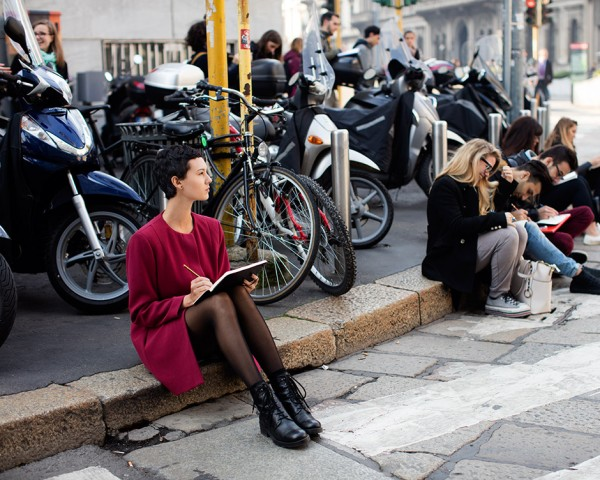 On the Street…Via Turati, Milan