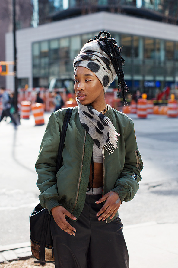On the Street…Astor Place., New York