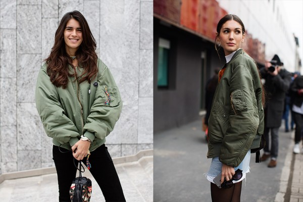 On the Street…The Italians' Jacket Choice for Spring, Milan