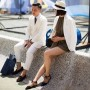 Super cute couple at Pitti Uomo, Florence – New York, New York