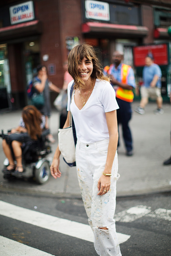 On the Street…Keeping Cool, New York