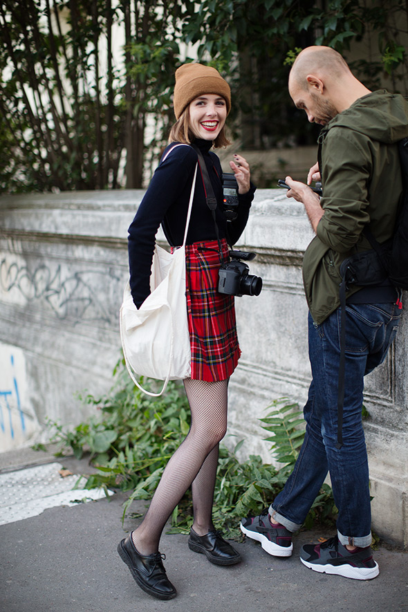 On the Street…All the Pretty Photographers, Paris