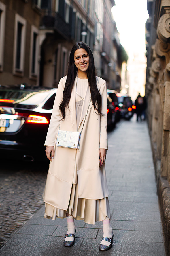 On the Street…Just Off Via Brera, Milan