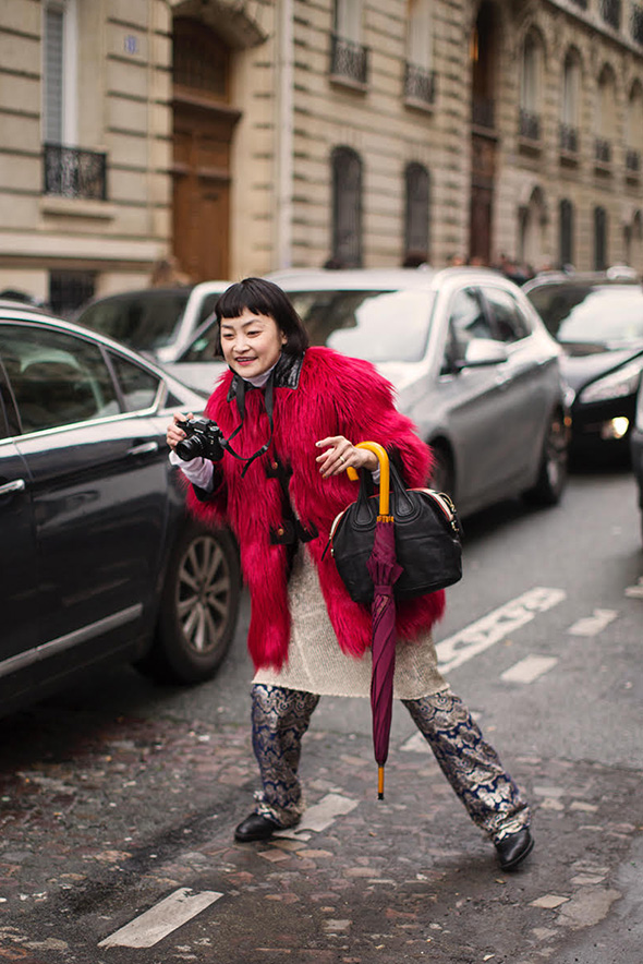 On the Street…Rei Shito, Paris