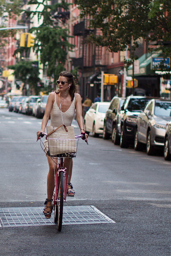On the Street…Bike Chic, New York