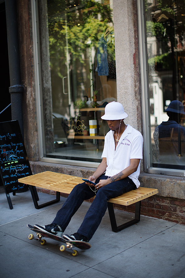 On the Street…Elizabeth Street, New York