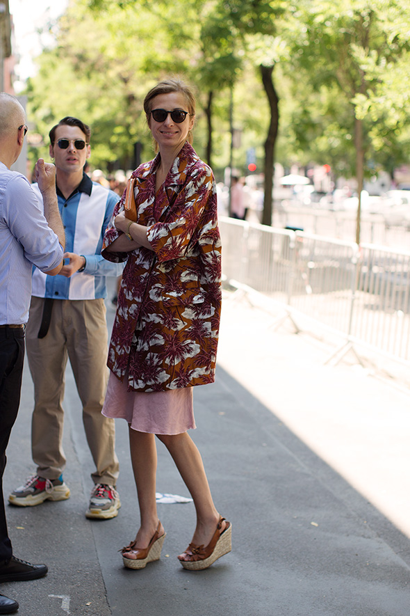 On the Street…At Fendi, Milan