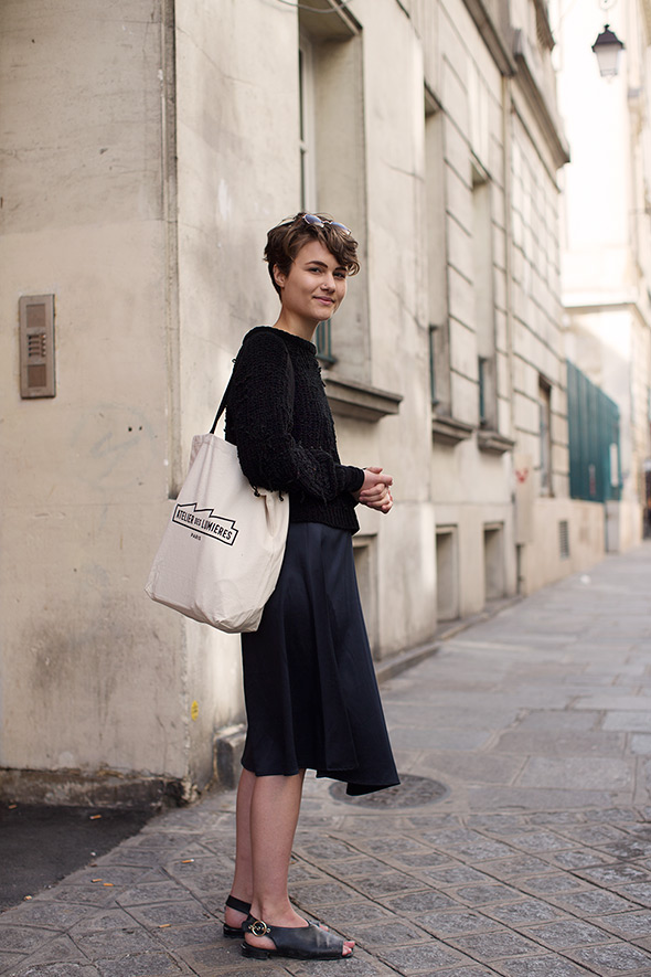 On the Street…Understated, Paris