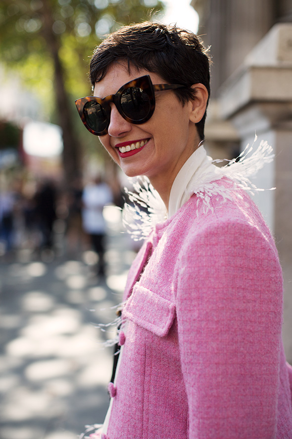 On the Street…Eva in Pink, Milan