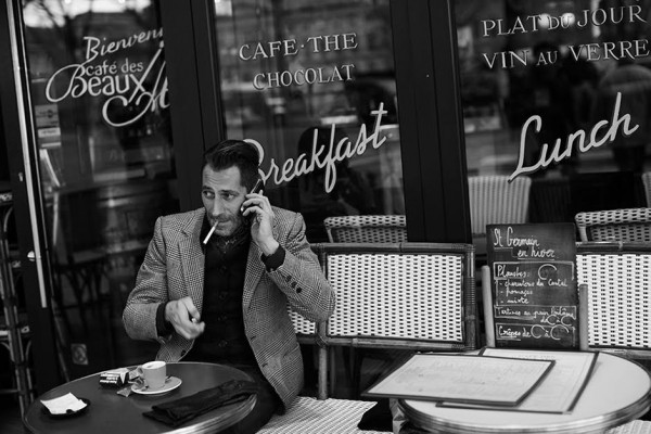 On the Street…Café, Paris