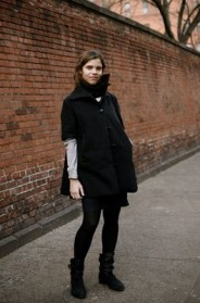 Another Great Short Sleeve Coat in Nolita « The Sartorialist