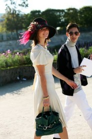 on the street�that hat that smile paris 171 the sartorialist